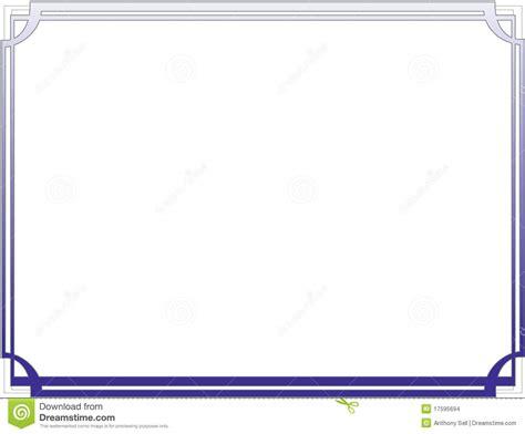 Business Letter Borders certificate border letter sized 010 stock vector