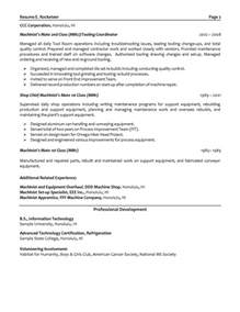 field service engineer resume objective