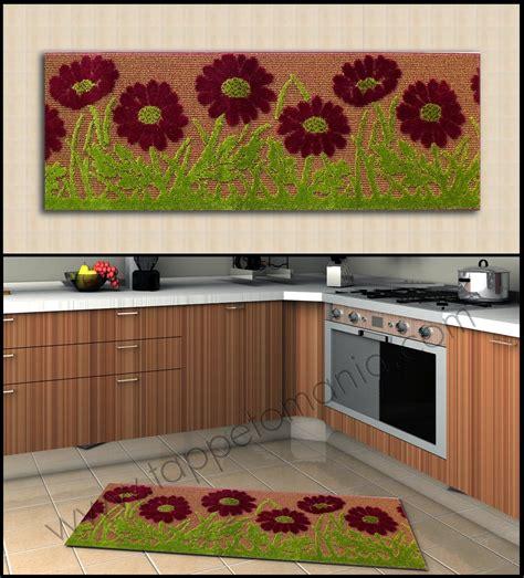 tappeti low cost tappeti per la cucina low cost stuoie colorate per la cucina