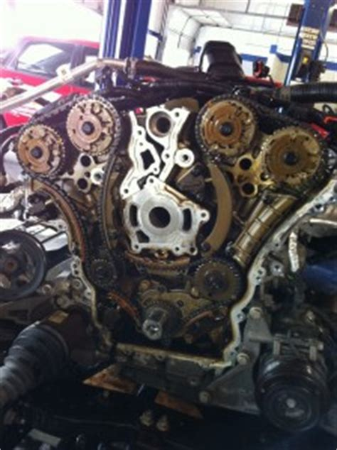 chevy traverse  gmc acadia timing chain problems pictures
