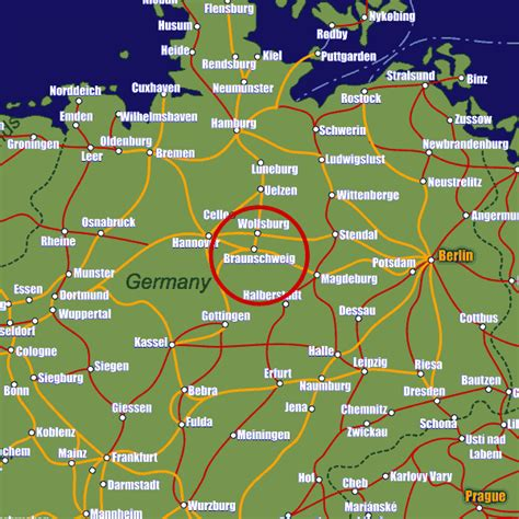 rail map germany braunschweig rail maps and stations from european rail guide