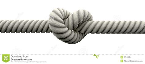 tie the knit tie the knot with wedding rings stock illustration