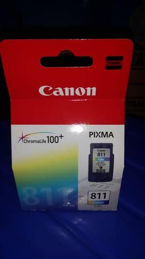 Canon 811 Color Original jual tinta canon 811 original warna color ink