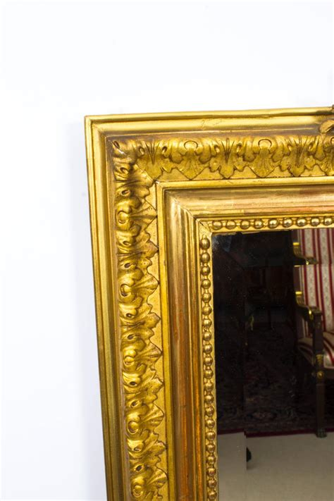 antique fireplace mantel with mirror antique giltwood overmantel mirror circa 1860 for