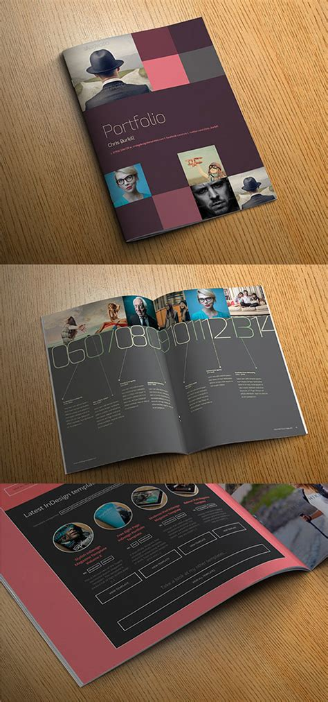 exo indesign portfolio template crs indesign templates