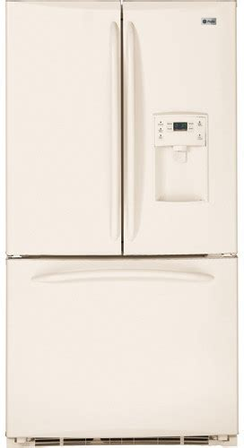 bisque colored refrigerators 28 images shop ge profile ge pfcf1njwcc 20 9 cu ft counter depth french door