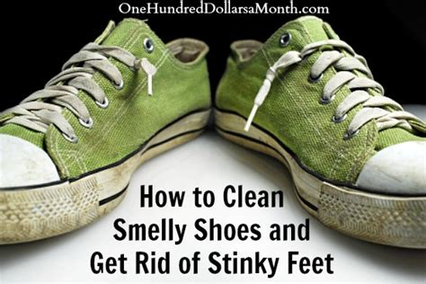 how to clean a stinky how to clean smelly shoes and get rid of stinky feet one