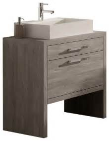 montreal oak bathroom vanity 24 quot contemporary