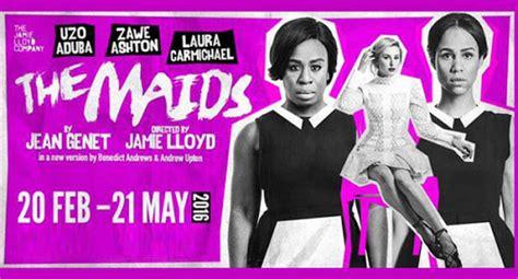 jean genet the maids analysis the maids at the trafalgar studios 20th february to 21st