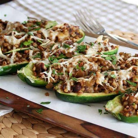 stuffed zucchini boats pinterest stuffed zucchini boats the healthy foodie