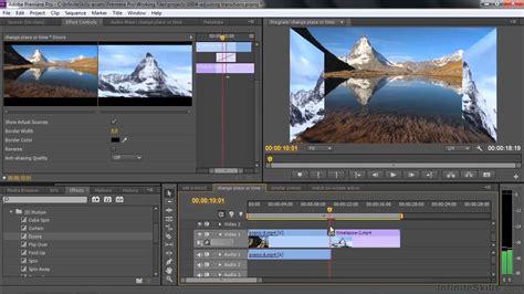 adobe premiere pro video transitions adobe premiere pro cc tutorial adjusting video