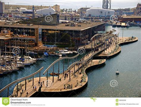 barcelona to porto arquitetura da cidade do porto de barcelona foto editorial