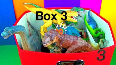 dinosaur box dinosaur box 3 collection jurassic world t rex spin
