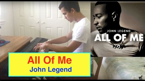 tutorial keyboard all of me all of me john legend piano cover free sheets