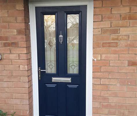 New Composite Front Door Installation Evesham Glass New Composite Front Door