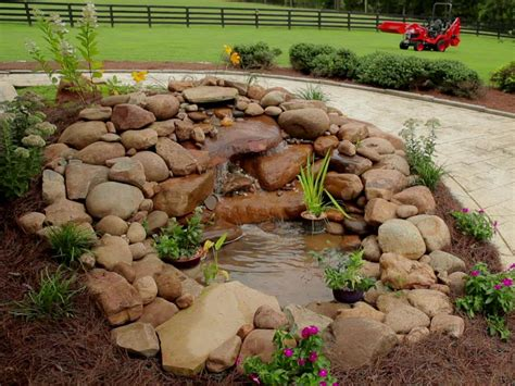 backyard pond building building a garden pond waterfall how tos diy
