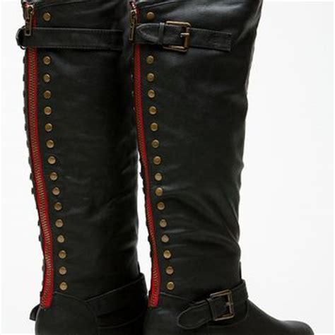 boots knee high boots the knee from cici