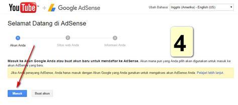cara membuat akun adsense melalui youtube cara paling mudah daftar adsense melalui youtube update