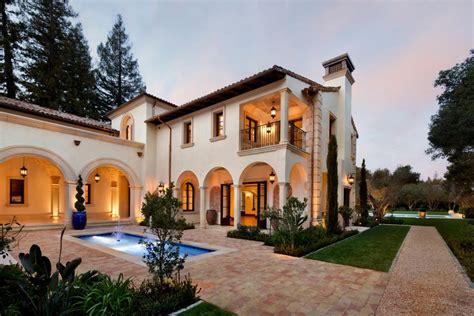 mediterranean villa features formal pool and spa 2017 hgtv