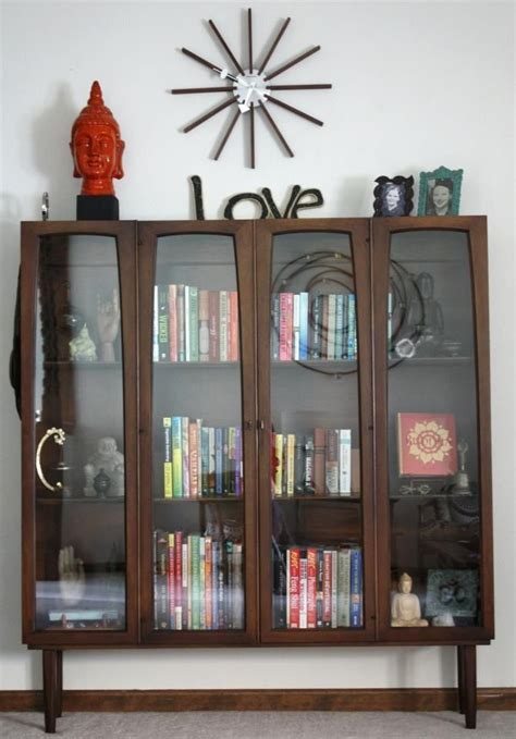 modern bookcases with doors bookshelf astonishing modern bookcase with doors wooden