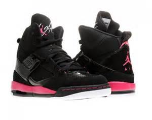 Nike air jordan flight 45 high gs girls basketball shoes 524864
