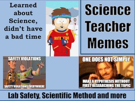 Science Meme - the science sage science teacher memes