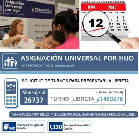 fechas de cobro de la asignacion universal x hijo anses asignaci 211 n universal por hijo consultas y fechas de