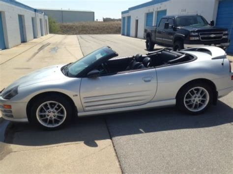 2001 mitsubishi eclipse spyder convertible top buy used 2001 mitsubishi eclipse spyder gt convertible 2