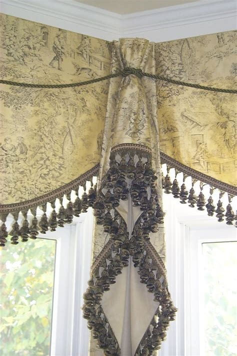 valance curtain rods hardware the 23 best images about corner window treatments on