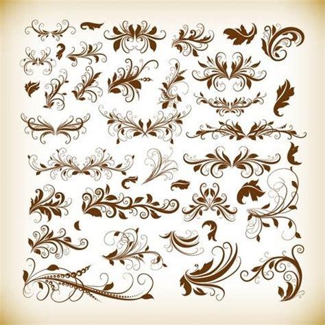 design elements vector vintage vintage decorative design elements vector graphics set