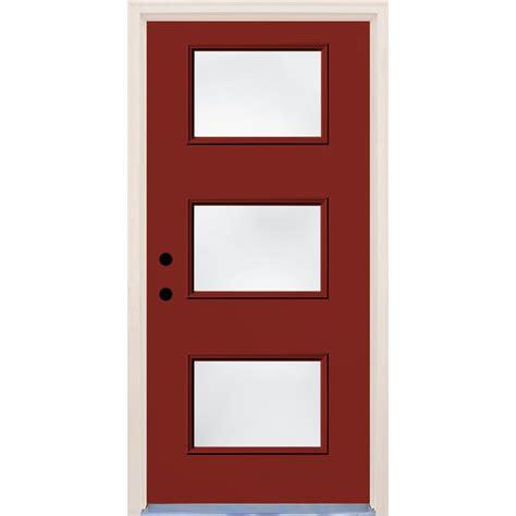 builder s choice 36 in x 80 in hemlock 10 lite interior builder s choice 36 in x 80 in cordovan 3 lite clear
