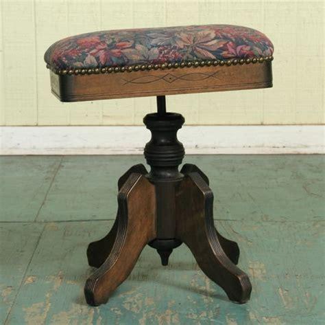 tonk piano bench 1224 eastlake victorian piano stool tonk chicago ny