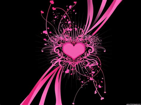 wallpapers hd black and pink pink and black backgrounds wallpaper cave
