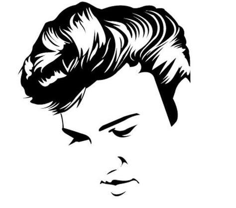 elvis silhouette   httpswwwfacebookcom