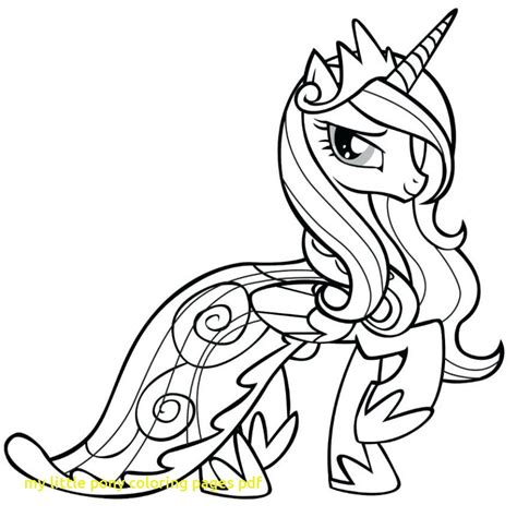 pony coloring page pdf my little pony coloring pages pdf with print rainbow dash