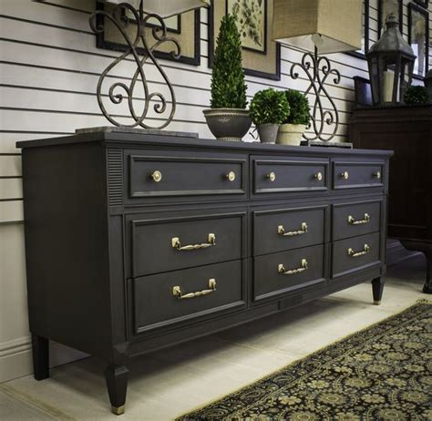 painting bedroom furniture ideas gorgeous dresser with graphite chalk paint 174 project by