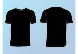 template for t shirt design basic t shirt template free vector stock