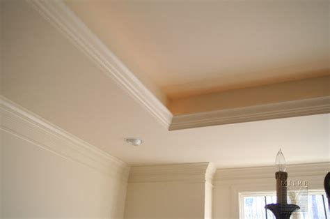 Tray Ceilings Images by Ceiling Treatments Tray Ceiling With Rope Accent Lighting
