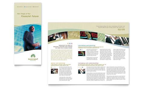 brochure templates tri fold brochure word