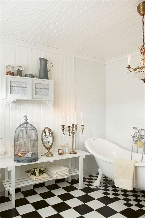 wie richte ich ein badezimmer im landhausstil ein