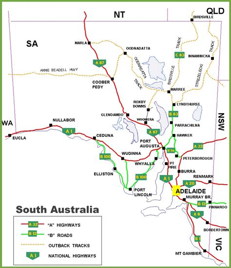 section maps south australia map south australia pictures to pin on pinterest pinsdaddy