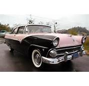 Pink And Black 1955 Ford Fairlane Crown Victoria Very Similar To The