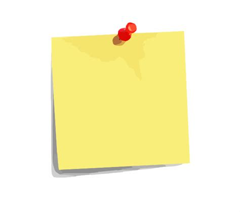 post it note clip at clker vector clip royalty free domain