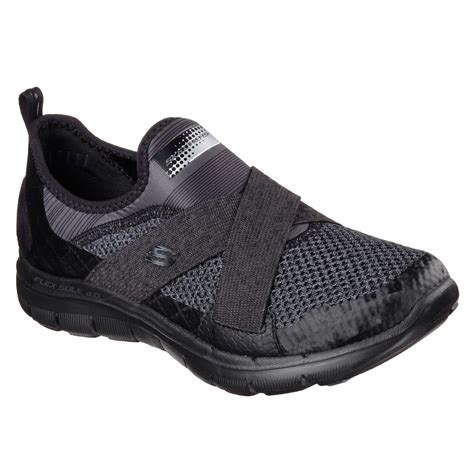 velcro athletic shoes for skechers sport flex appeal 2 0 velcro athletic shoes
