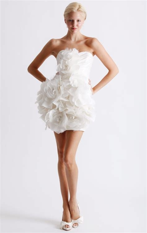 Mini Wedding Dresses by Ailin S Grey Wedding Ghowns For Instance You Can