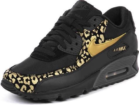 Nike Airmax9 0 Motif nike air max 90 w chaussures l 233 opard noir or dans le shop