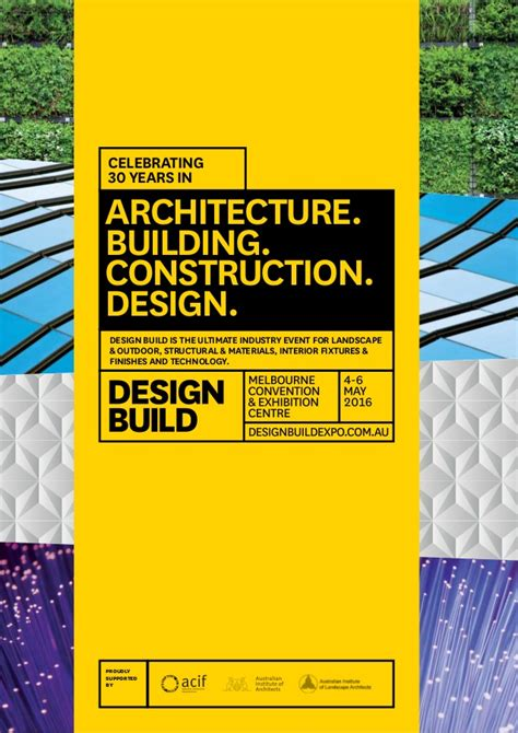design event brochure designbuild 2016 event brochure