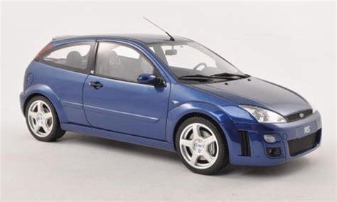 Diecast Miniatur Mobil Ford Focus Jdm Die Cast Skala 124 ford focus rs mki blue 2002 ottomobile diecast model car 1