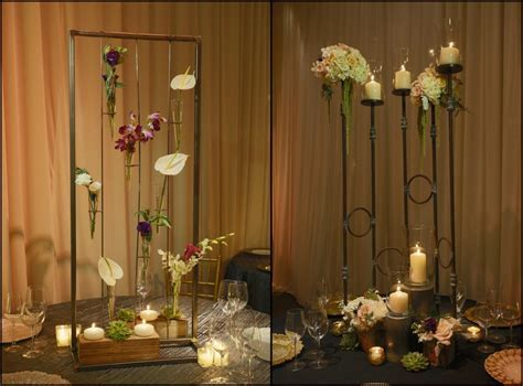 Simple and Elegant Guest Table Decor   Wedding Flowers and