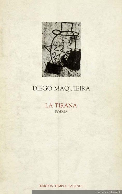 libro sobre la tirana la tirana poema memoria chilena biblioteca nacional de chile